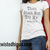 Thou Shalt Not Try Me Light Colored Unisex Tee