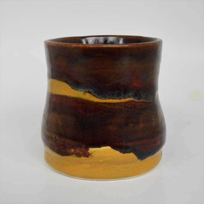 Tea Cup, Whiskey Cup, Wine or Juice Cup, Espresso Cup, Chocolate Brown With