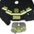 Personalized Firefighter Christmas Tree Skirt and 2 Christmas Stockings,