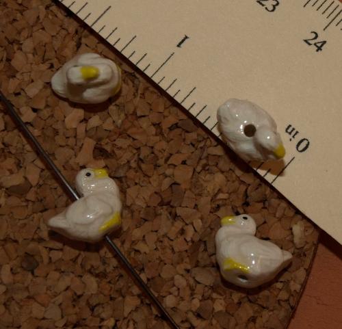 Goose Ceramic Beads-8108
