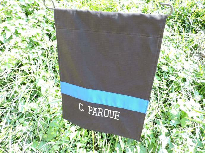 Police Officer Garden Flag, Personalized Garden Flag, Police Officer Gift, Law