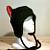 Cat Hat - Devil Cat Hat - Kitty Cat Hat - Cat Ear Hat - Cat ears - Cat Fleece