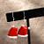 Santa Hat Earrings