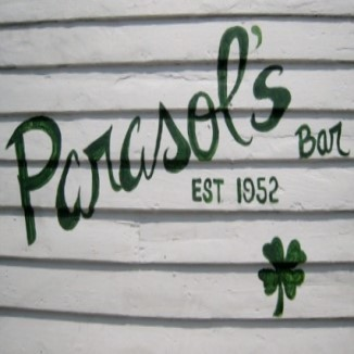 Parasol's Irish Bar Uptown New Orleans Constance St. Green Beer Roast Beef