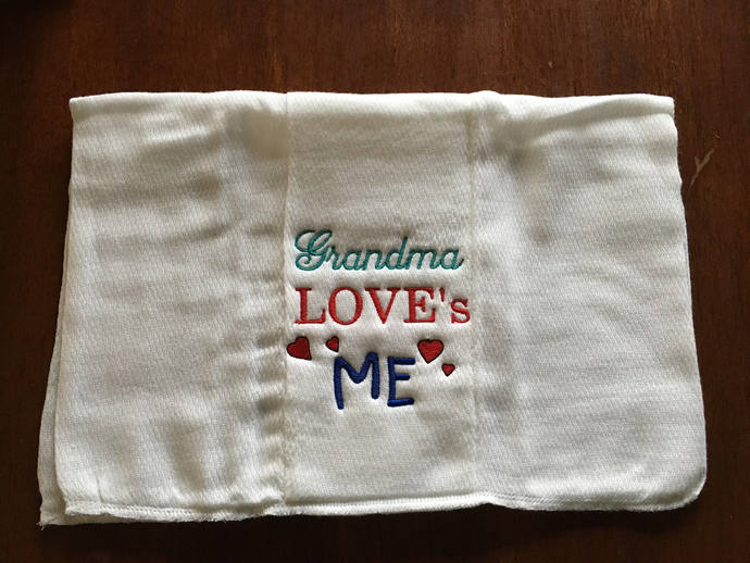 Personalized Burp Cloth, Custom Embroidered, Baby Gift, burp rag, New Baby Gift,