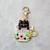 Teacup Cat Stitch Markers for Knitting, 3pc | Crochet stitch marker, progress