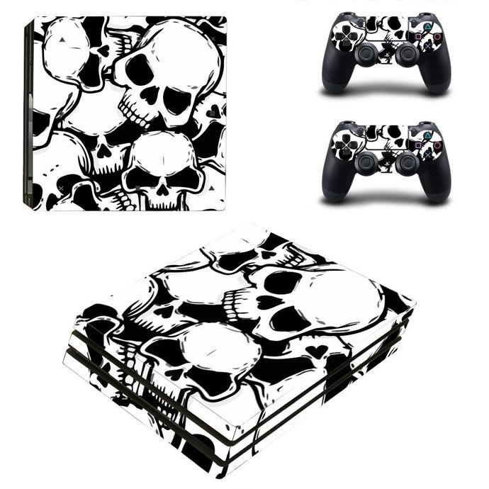 Broken Skull PS4 pro Skin