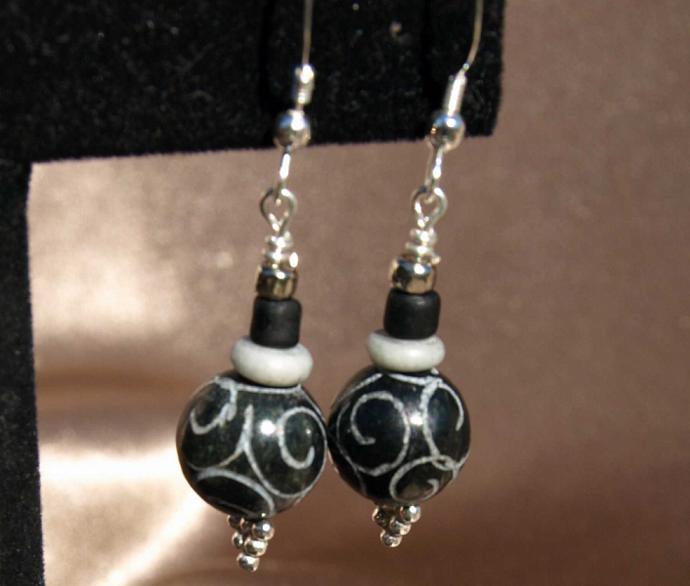 Oriental New Jade Earrings
