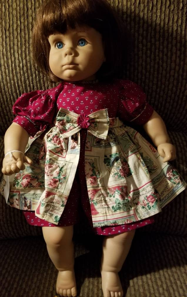 Signed by Johannes Zook.  1988 Pat Secrist doll.