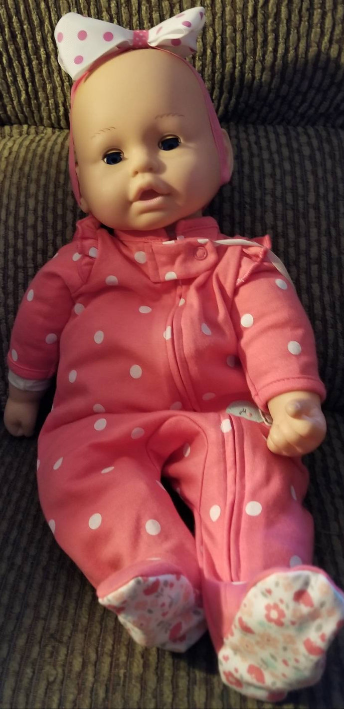 Baby's first by the Goldberg Co.   A so soft 16 inch baby