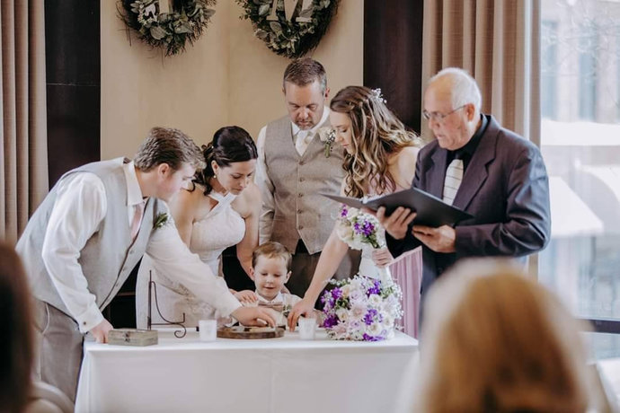Custom Designed Unity Puzzle® Alternative Blend Family Wedding Gift For The