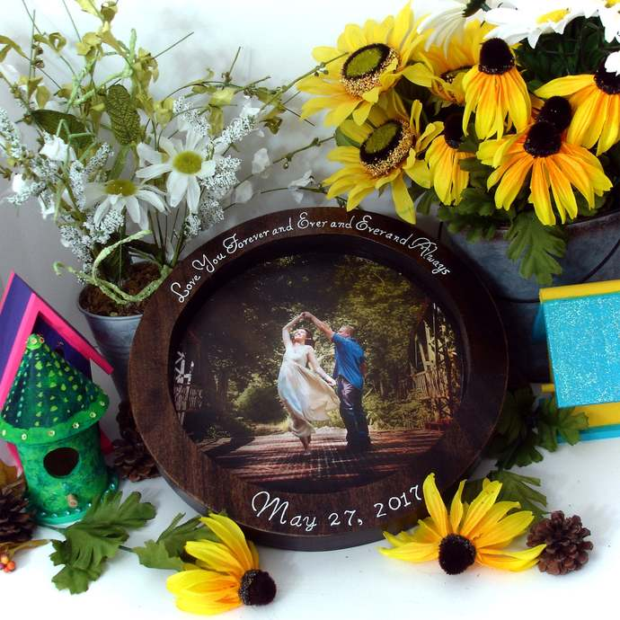 Family Wedding Unity Ceremony Puzzle Personalized Family Heirloom Puzzle OOAK