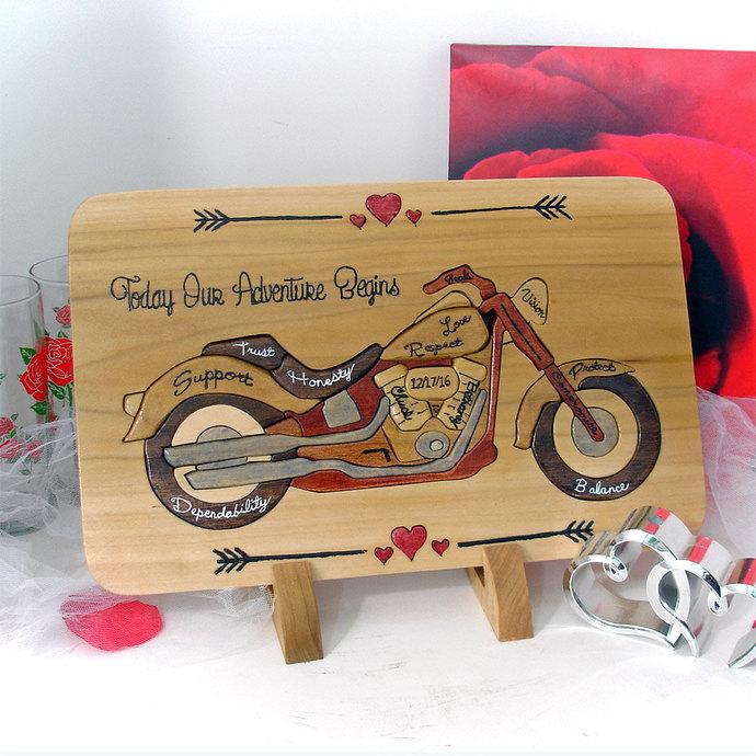Custom Designed Unity Puzzle® Personalized Wedding Gift Wedding Puzzle Unity