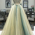 Two Tones Two Piece Prom Dresses Backless Long Evening Gown