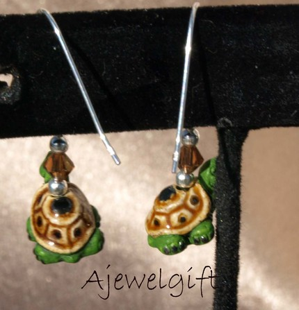 Cute Turtle Earrings (9099