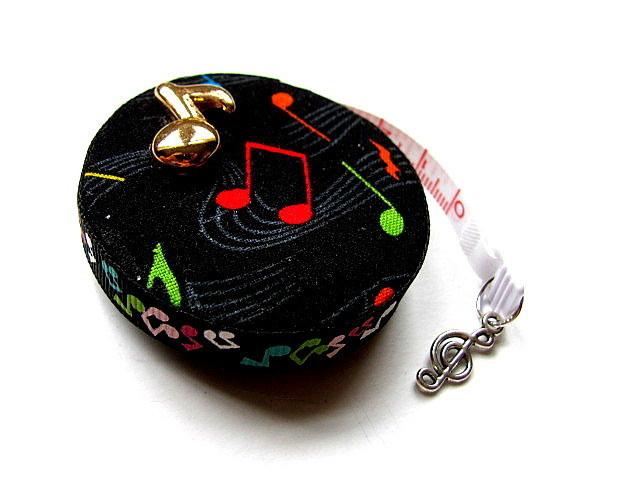 Measuring Tape I Love Music Retractable Tape Measure