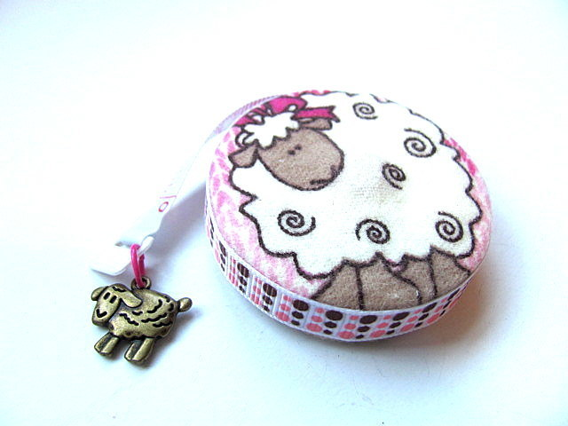Measuring Tape with Knitted Sheep  Retractable Tape Measure