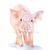 Farm Animals 1 Watercolor Art Prints - Lamb, Chick, Calf, Piglet