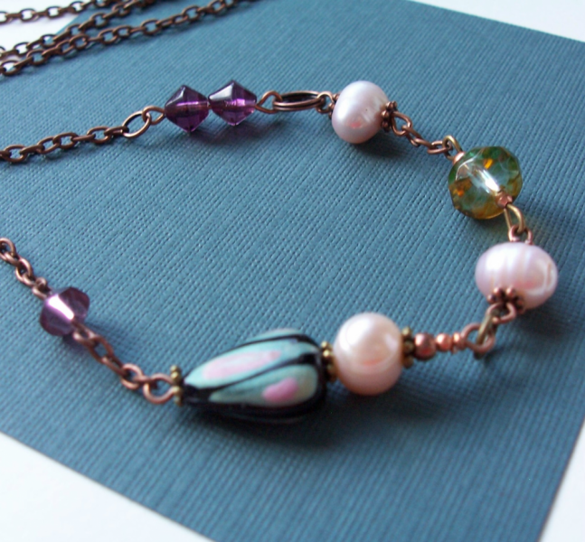Treasures on a Copper Necklace