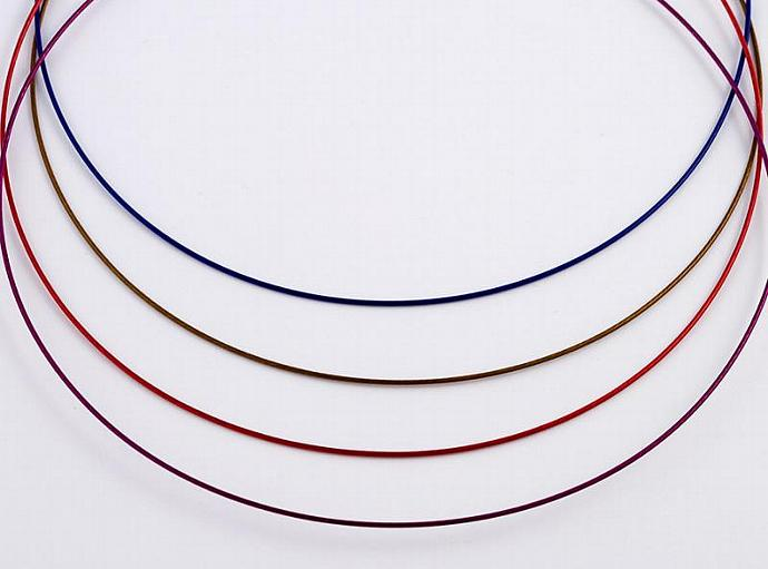 Coated Metal Chokers - Your Color Choice