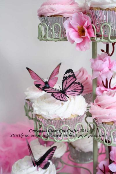20 pack of Butterflies for Weddings, Cakes, Bouquets & more