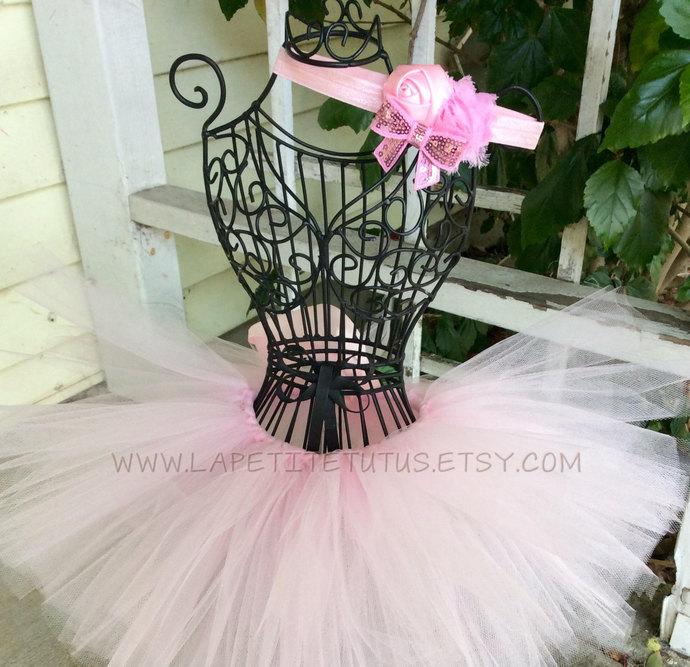 Pink baby tutu, infant tutu, toddler tutu, girls tutu, girls clothing, clothing,