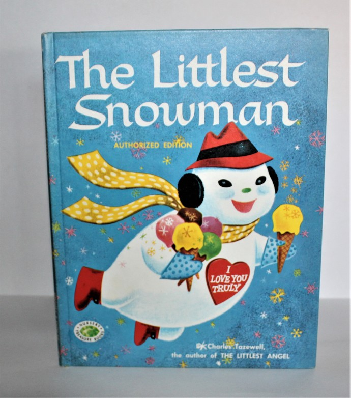 The Littlest Snowman Story by Charles Tazewell 1978 Grosset & Dunlop