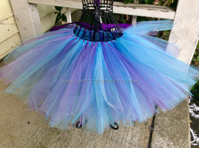 Multi color tutu for girls toddler cake smash photo prop halloween accessory
