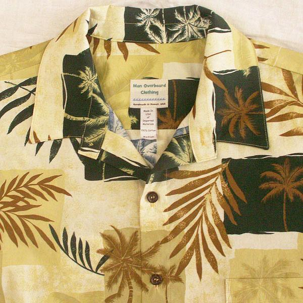 Palms & Ferns Shirt - Size Medium
