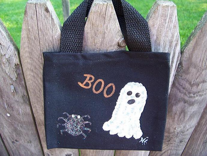 BOO Halloween Mini Bag