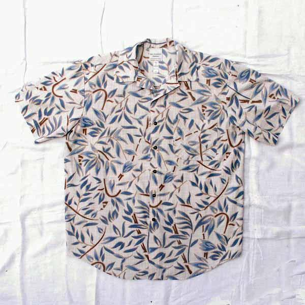 Abstract Floral Aloha Shirt - 2 Color Options - Size S, M, L, XL