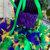 Mardi gras tutu dress pageant glitter mask sequin rhinestone cotton pageant