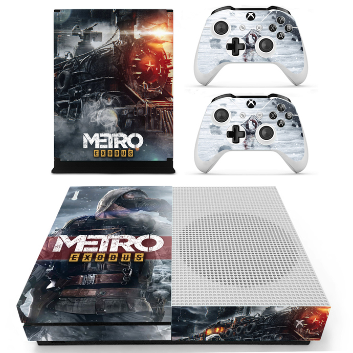 Metro Exodus Xbox 1 S Skin for Xbox one S Console & Controllers