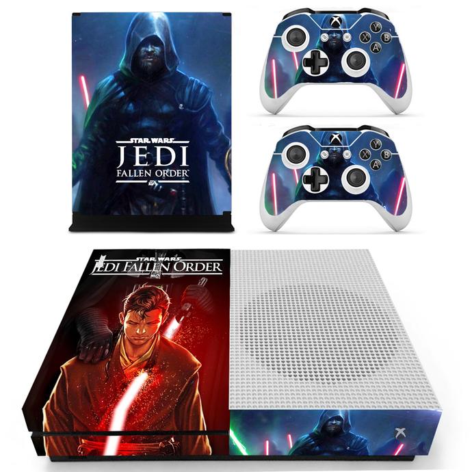 Stars Wars Jedi fallen  order Xbox 1 S Skin for Xbox one S Console & Controllers