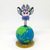 Ultraman Monster Alien Baltan w/ Earth Spring Suction Cup Toy - Car Decoration
