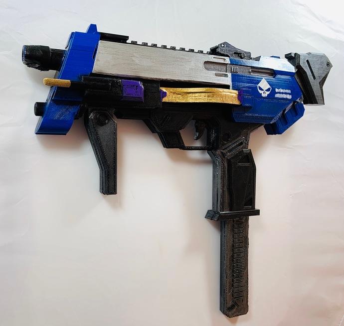 Overwatch Sombra Machine Pistol Full Size Replica