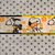 """Snoopy, Summer, Roller Skating, yellow flowers 1"""" wide adjustable Dog Collar or"""