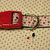 "Snoopy Love Hearts  Valentine 1"" wide adjustable Dog Collar or Leash with Snoopy"