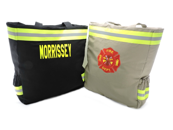 Personalized Firefighter Diaper Bag, Firefighter New Baby Gift, Baby Shower