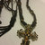 Macrame Necklace with Metal Cross