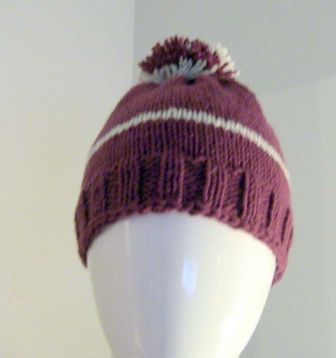 Knit Hat, Gift For Her, Gift For Him, Wine Knit Hat, Unisex Knit Hat, Unisex