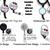 Pink & Gray Chevron Badge Reel, Retractable Badge Holder, Name Clip, Stethoscope