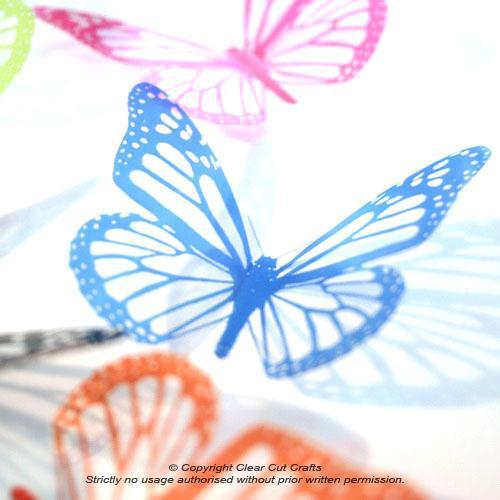 12 pack of B001SC Monarch Butterflies for Weddings, Decorations, Nurseries,