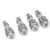 925 Sterling Silver Handmade Antique Strand Reducer Cone Oxidized Beads