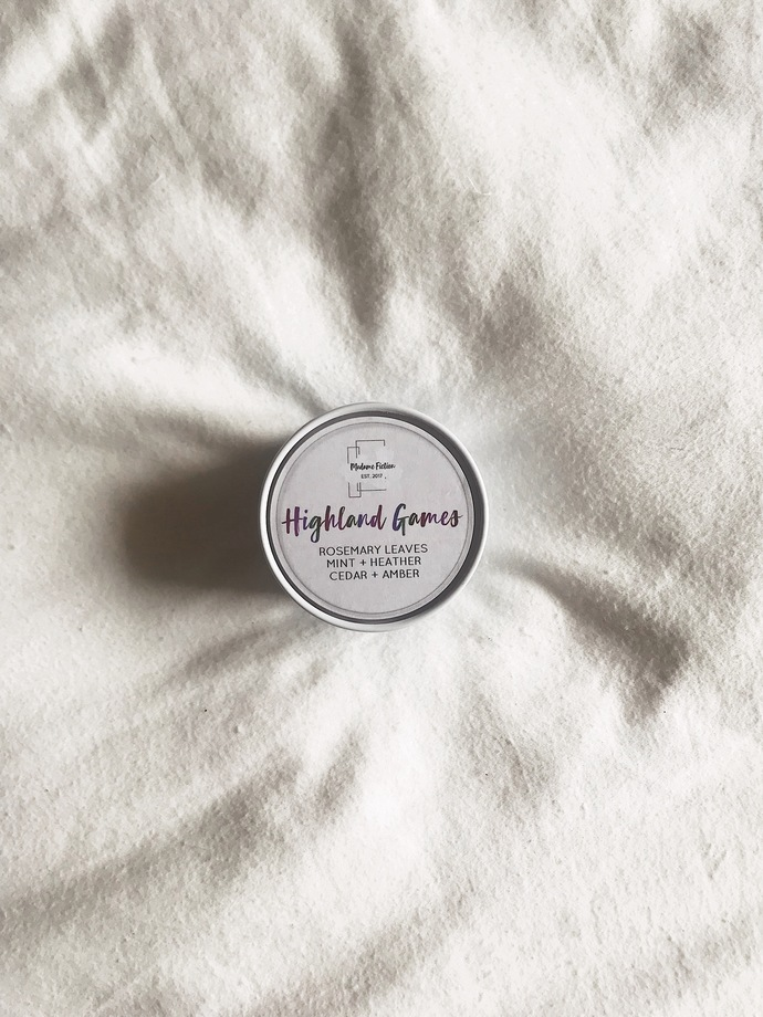 Highland Games - 4oz Candle - Brave Inspired - Scented Soy Candle - Book Lover
