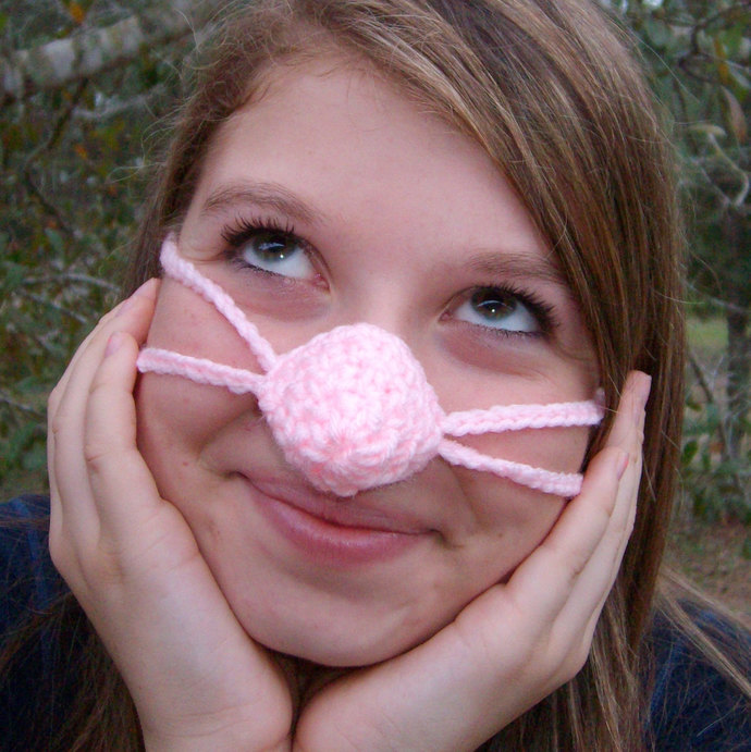 NOSE WARMER Pinkey Nose   Sleep with Warm Nose  Vegan Friendly best gift for her