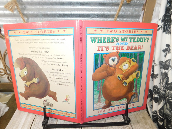 Where's My Teddy and it's  The Bear 1999, Hard Cover Book, By Jez Alborough,
