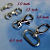 240 Nickel Plated Lobster Swivel Clasps - 1.3 INCH