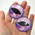 Sparkling Pink Dazzle Fantasy Dragon Glass Eyes 6mm to 40mm Jewelry Art Doll