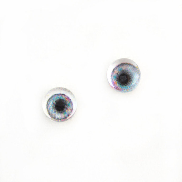 6mm Pastel Doll Glass Eyes Cabochons - Tiny Glass Eyes for Jewelry or Doll